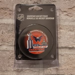 2018 Washington Capitals Stanley Cup Puck